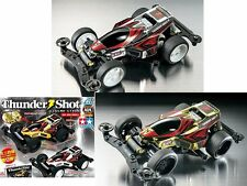 Tamiya Mini 4WD Thunder Shot Legend Style Gold & Silver Plated Set 92314 92315