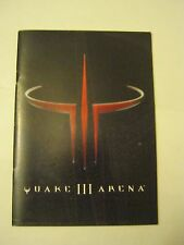 Quake III Arena Installation and Program Guide 36 pages (1999) (MS-4)