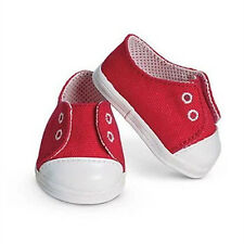 2016 red sport shoes Wear fit for 43cm Baby Born zapf(only sell shoes)