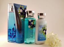Bath & Body Works 4 Piece Set *JUNIPER BREEZE* (Set 1) Lotion, Cream, Mist & Gel