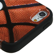 FOR APPLE IPOD TOUCH 5 6 5TH 6TH GEN BASKETBALL DESIGN SHOCK TUFF CASE COVER