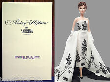 Sabrina Audrey Hepburn Barbie Collector Doll Mattel Silkstone Gold Label Best