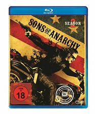 Sons of Anarchy - 2 Staffel  - 3 Blu Ray Box - Neu u. OVP - FSK 18 - Rental
