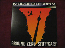 MURDER DISCO X Ground Zero Stuttgart LP Severed Head Of State Detestation