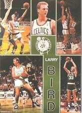 1990 Starline LARRY BIRD Boston Celtics Monster Poster MINI Promo Piece RARE