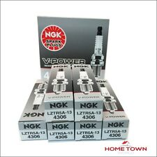 6 PCS NGK #4306 LZTR5A-13 V-POWER PREMIUM COPPER SPARK PLUGS MADE IN JAPAN NEW