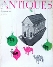 The Magazine ANTIQUES--DEC 1956--XMAS ISSUE,KEYBOARDS,SILVERSMITHS,ORMOLU,CARDS