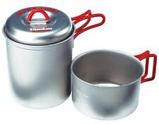 EVERNEW ECA278R Titanium Cooker Pot and Mug Set for One Person from Japan