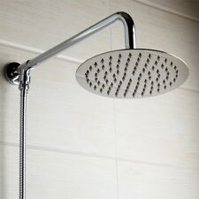 "Modern Wall Mounted 12"" Rain Shower Head Shower Arm Shower Hose Over-head Shower"
