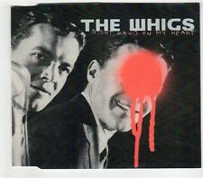 (GW629) The Whigs, Right Hand On My Heart - DJ CD