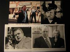 Charles Durning VINTAGE 8 Assorted PHOTO LOT 669K