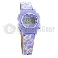 VibraLITE Mini 12 Alarm Small Vibrating Watch for Kids, Purple Flower VM-LPL #22