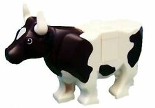 LEGO® Cow - Farm Animal City - White with Black Spots