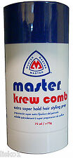 Master KREW COMB STICK extra super hold hair styling prep 75ml/75g