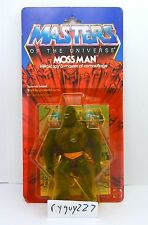 MOTU, Moss Man, Masters of the Universe, MOC, carded, figure, He Man, sealed