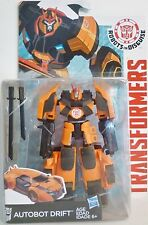 """AUTOBOT DRIFT Transformers Robots in Disguise 5"""" Deluxe Class Figure Wave 2 2015"""