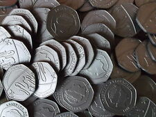 Maths for school  - 100 plastic 20p COINS - Sterling design play money -  NEW