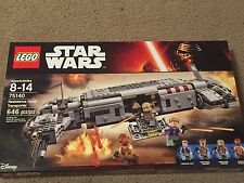 Lego  Star Wars Resistance Troop Transporter Set #75140 With 646 Pieces!