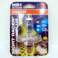 Osram Night Racer Plus Headlight Bike Motorcycle Bulbs Bulb HS1 35W Single Piece