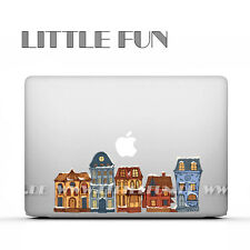 "Macbook Aufkleber color Sticker Skin Decal Macbook Pro 13""15"" Air 13"" Stadt C27"