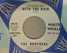 Brothers, The   ‎– Today Is Today / With The Rain ~ (VG+) Garage Rock ~ Promo