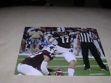 Justin Manton Louisiana Monroe Signed 8x10 Photo NFL