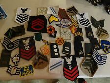 GENUINE US MILITARY INSIGNIA PATCHES LOT SET WITH A FREE CHALLENGE COIN # 2