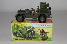 1960's French Dinky #828 Rocket Carrier Jeep, Nice with Original Box, Lot #11