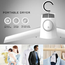 Smart Hanger Dryer Travel Portable PTC Shirt T-shirt Clothes Hang Laundry New