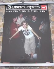 GUANO APES Walking On A Thin Line 2003 promo poster 27 x 19  original