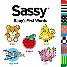 Baby's First Words (Sassy)-ExLibrary