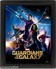 Guardians of the Galaxy Framed 3D Effect Lenticular Movie Poster 26 x 20 cm
