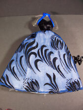 NWOB BARBIE DOLL STARLIGHT SPLENDOR BLUE GOWN DRESS