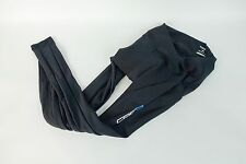 Capo Women's Cycling Tights Padded Fleece Size Small Black Bike Bicycle Cycle