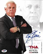 Ric Flair Signed WWE 8x10 Photo PSA/DNA COA Official TNA Promo Picture Autograph
