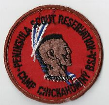 Activity Patch Camp Chickahominy Penninsula Scout Reservation 700138