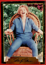 """sports time inc."" marilyn monroe carte # 132 individuel carte, émis en 1995"