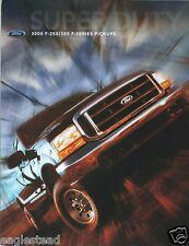 Truck Brochure - Ford - F-250 F-350 F-series - 2000  (T1452)