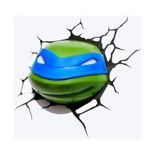Teenage Mutant Ninja Turtles 3D Wall Nightlight - Leonardo Face