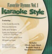 Various Artists Daywind Karaoke Style: Favorite Hymns, V CD