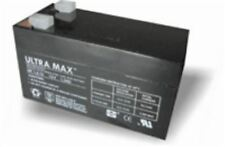 ULTRA MAX 12v 1.2Ah - 1.3Ah Burglar Alarm Battery with 1 Year Warranty