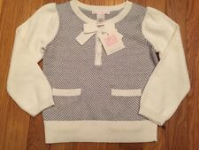 Janie and Jack Pullover sweater Girls, 3/3T NWT