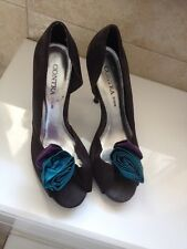 Dune Size 6 Shoes / Heels. Black , Teal & Purple