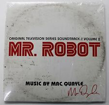 MR. ROBOT Volume 2 LP Vinyl Soundtrack Score AUTOGRAPHED Signed MAC QUAYLE New!
