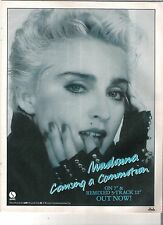 MADONNA Causing A Commotion 1987  UK magazine ADVERT / mini Poster 11x8 inches