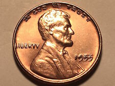 1955 Doubled Die Lincoln Cent * Ch/Gem Bu Red *
