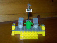 Lego Train Bus Stop Mini Station Custom City 9V RC Track 7936  60052 7939 My Own
