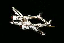 P-38 LIGHTING HAT LAPEL PIN UP RENO LEFTY GARDNER VETERAN PILOT CREW GIFT WOW