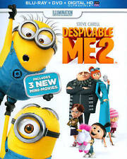 Despicable Me 2 Blu-ray/DVD Combo Movie