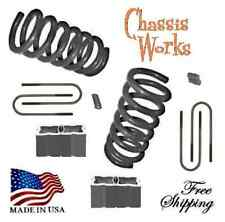 "1997-2004 Dodge Dakota Durango 3-4"" Drop Coils Lowering Springs Lowering Blk Kit"